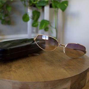 Vintage Fendi Gradient Transparent Sunglasses
